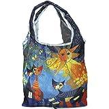 """Fridolin Einkaufstasche, Bag in bag, Wachtmeister, """"Dolce-Vita"""", aus Nylon, mehrfarbig, 16 x 13 x 4 cm"""
