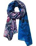 Desigual Foul New Magic Rectangle Schal blau Kombi