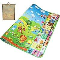 Gutsbox Tappeto Ripiegabile con Animali Tappeto Bambini Tappeto Puzzle Bambini Giochi per Cameretta Bambini Tappetino…