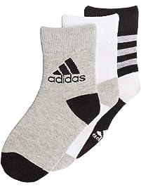 adidas Ankle S 3 Pair Pack Calcetines, Bebé-Niños