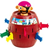 TOMY Pop Up Pirate Classic Children's Action Board Game, Family & Preschool Kids Game, Action Game for Children 4, 5, 6…