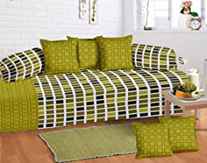 Supreme Home Collective 104 TC 8 Piece Cotton Bed in a Bag Set - Green