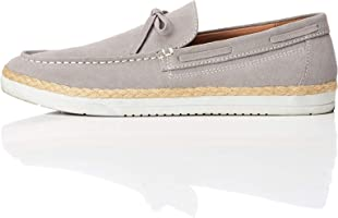 FIND Herren Leather Espadrilles Slipper