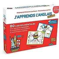 J'apprends l'anglais autrement - Niveau débutant: 80 cartes mentales pour apprendre facilement le vocabulaire, la…