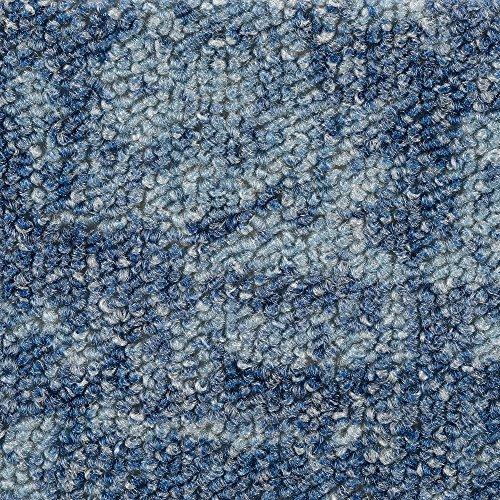 BODENMEISTER BM72181 Teppichboden Auslegware Meterware Schlinge beige wei/ß 200 400 und 500 cm breit verschiedene L/ängen 4 x 5 m Variante: 300