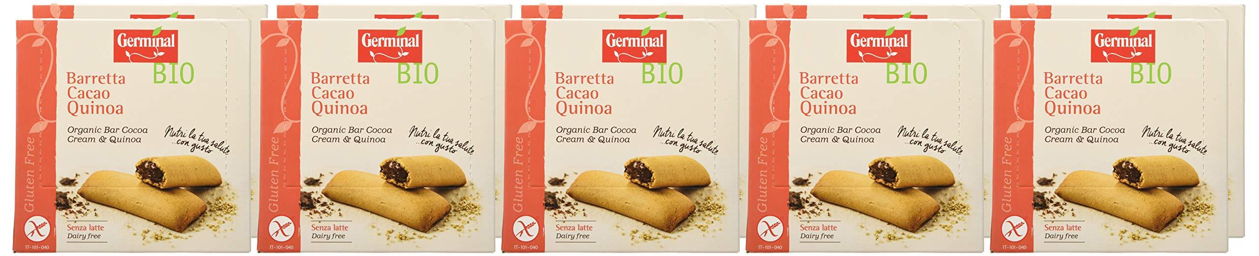 Germinal Bio Barretta Cacao Quinoa - 1800 gr, Senza glutine 2 spesavip