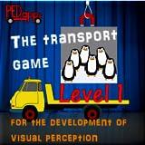 Demo Transportspiel für die Förderung der visuellen Wahrnehmung.