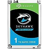 Seagate Skyhawk 1 TB Surveillance Internal Hard Drive HDD – 3.5 Inch SATA 6 Gb/s 64 MB Cache for DVR NVR Security Camera Syst