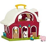 Battat – Fattoria giocattolo - Big Red Barn – Set da gioco per bambini 18 m + (6 pezzi)