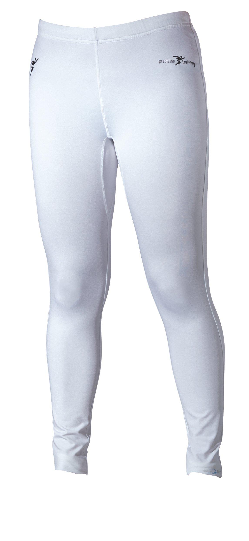 Precision - Leggings primo strato, colore Bianco, taglia XXS (26-28 Inch)