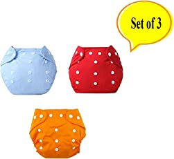 Baby Bucket All-In-One Bottom-bumpers Cloth Diaper (Multi Colours)