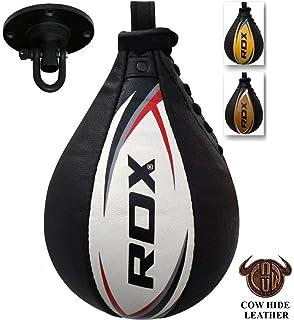 Speed Ball Bag Faux Leather Boxing Swivel Punch Bag Training Punching Platform