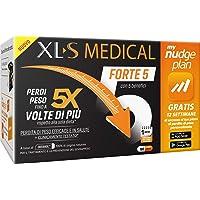 XL-S MEDICAL Forte 5 Pastiglie Dimagranti Forte, Trattamento Dimagrante con 5 Benefici in 1, App My Nudge Plan Inclusa…