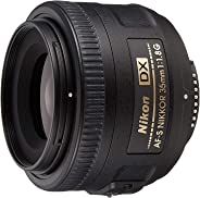 Nikon 35Mm F/1.8G Af-S DX Nikkor Lens For Nikon Dslr Cameras, Black