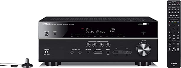 Yamaha RX-V 685 7.2 AV Receiver with MusicCast Bluetooth, Wi-Fi Home Theater