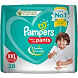 Pampers Baby Dry Pants Lotion with Aloe Vera (XXL) -28 Pieces