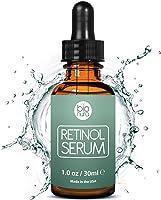 Bionura Retinol Serum - 2,5% Retinol Liefersystem mit 20% Vitamin C & Vegan Hyaluronsäure - Bestes Anti-Aging, Anti...