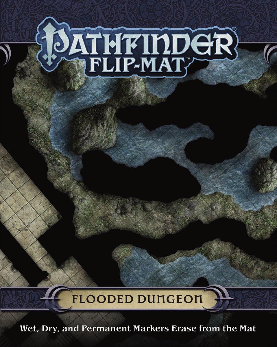 Paizo-Publishing-Flip-Mat-Flooded-Dungeon