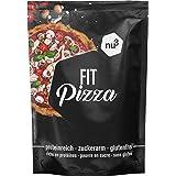nu3 Fit Pizza baja en carbohidratos - 270 g de harina para pizza proteica sin levadura - 100% pizza vegana y libre de gluten