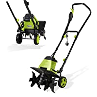 H.yeed Handy Electric Tiller - 1500W Powerful Garden Soil Cultivator/Rotavator with 6 Steel Blades – 40cm Cutting Width & 22cm Tilling Depth, 10m Power Cable