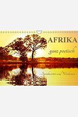 AFRIKA ganz poetisch (Wandkalender 2021 DIN A4 quer) Kalender