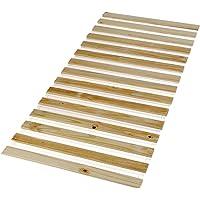 IDIMEX Sommier en pin Massif 15 Lattes sans Cadre Compatible Couchage 90 x 190 cm et 90 x 200 cm