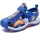 DimaiGlobal Sandalias Niño de Verano con Plantillas de Trekking Senderismo Zapatillas Niña de Zapatos Aire Libre Deportivas S