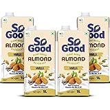 So Good Almond Fresh Vanilla 4L (4 x 1L)