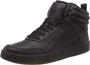 Puma Unisex Rebound Street v2 L Hohe Sneaker, Schwarz