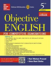 Objective English for Competitive Examination (Old Edition)