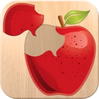Essen Puzzle Spiel für Kinder - Kostenlos Spaß Lernspielzeug für Kleinkinder; lernen, Obst und Gemüse Namen