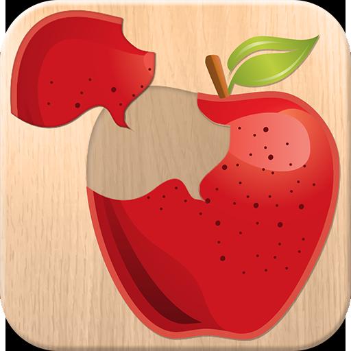 Essen Puzzle Spiel für Kinder - Kostenlos Spaß Lernspielzeug für Kleinkinder; lernen, Obst und Gemüse Namen (Puzzle-spiele Für Android-tablets)