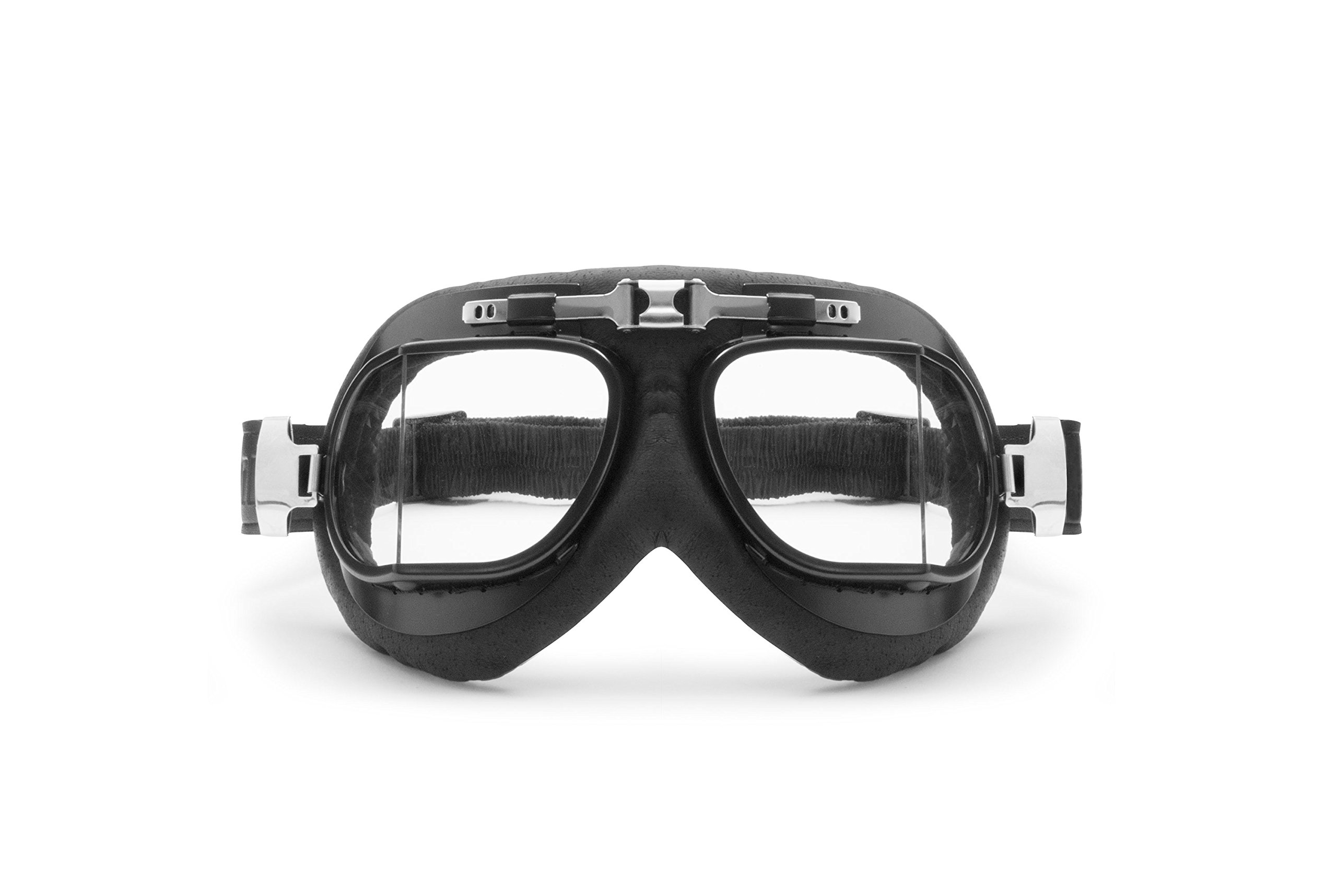 Masque moto aviateur rétro Bertoni AF193L 2