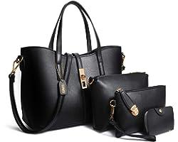 TIBES Handtaschen damen Handtasche mädchen Weiche handtasche Taschen damen set Beutel Top handle bags Tragetaschen Messenger