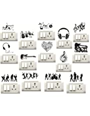 Sticker Studio Music Instruments Switch Board Sticker (Set of 14)