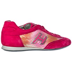 Hogan Zapatos Zapatillas de Deporte Mujer Olympia Fuxia EU 36 HXW052016870PN228S