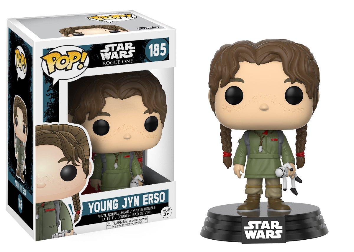 Funko Pop Jyn Erso Jóven (Star Wars 185) Funko Pop Rogue One (Star Wars)