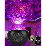 DeepDream LED Sternenhimmel Projektor Galaxy Light mit Batterie 27 Lichtmodus Bluetooth Musikplayer Sternenlicht Projektor Na