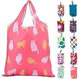 Litthing Borse Riutilizzabili 10 Pezzi Shopping Tote Bag Spesa Portatile Alimentari Borsa Impermeabile Ecologiche Shopping Ba