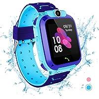 Smartwatch per bambini - Impermeabile IP67 LBS Tracker Orologio Telefono con SOS Chiamata Chat Vocale Gioco di…
