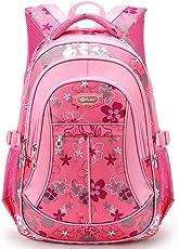 HASAGEI Kinderrucksäcke Schulrucksäcke Schultasche Daypacks Backpack für Kinder Mädchen Jungen Jugendliche Schulrucksäcke mit Gurt M/S 45 * 30 * 16/41 * 27 * 13 cm 22/15 Liters
