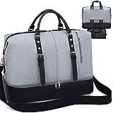 LEDAOU Reisetasche Herren Weekender Damen Tasche mit Schuhfach Groß Handtasche Sporttasche