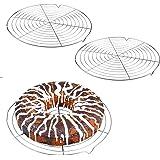 Nuluxi Gâteau Ronde Grille de Refroidissement Moule à Gâteau de Refroidissement en Rack Gâteau de Refroidissement Filet Facil