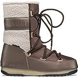 Moon Boot Monaco Wool Mid WP Stivali Donne Nero Stivali da Neve