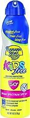 Banana Boat Ultramist Clear Kids Sunscreen Spf 50, 6 Ounce