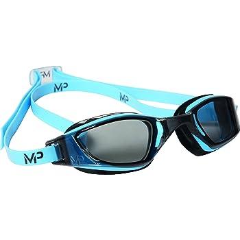 Michael Phelps Xceed-MP-Gafas de natación, Color - Bleu/Noir, tamaño n/a