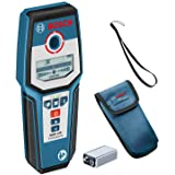 Bosch Professional Wallscanner GMS 120 (Max. Detectiediepte Hout/Ferrometaal/Non-Ferrometaal/Spanningvoerende Leiding: 38/120