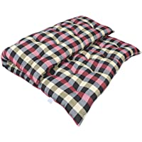 Atootfusion Primium Quality Soft Cotton Multicolour Mattress | Cotton Gadda (3 x 6 ft OR 72 x 36 inch) with One Cotton Pillow (Combo of Mattress and Pillow) (16 X 26 inch)