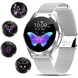 Yocuby Smart Watch damski, elegancki stylowy zegarek Smart Watch Bluetooth Fitness Tracker z wodoodpornością IP68/narzędziami
