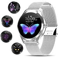 Yocuby smartwatch donna,Elegant orologio smartwatch Bluetooth Fitness Tracker IP68 impermeabile/strumento di periodo…